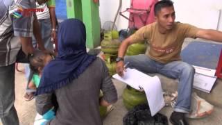 BELI ELPIJI 3KILO, WARGA HARUS NGANTRI | KOMPAS NEWS ACEH 12/01/2016