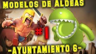Clash of Clans Diseño de aldea ayuntamiento 6