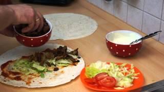 Jak zrobić Kebab durum,yufka,tortilla,pite durum