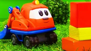 Игрушки и машинки для детей - Капу строит площадку для собачек