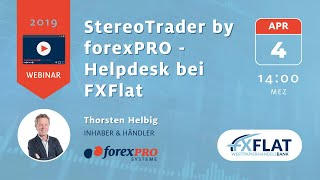 04.04.2017 Thorsten Helbig forexPro Systeme   Livetrading bei FXFlat