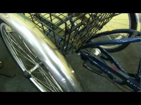 Трехколесный велосипед круизер Schwinn Town And Country