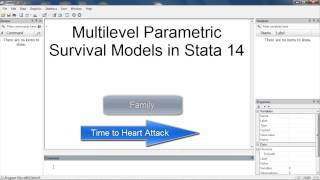 Multilevel survival analysis in Stata