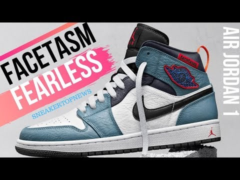 """FACETASM Expresses Their Idea Of Tokyo With The Air Jordan 1 Mid """"Fearless"""""""