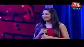 Vrushika's Performance on New Year Special on Aaj Tak  - 31st December 2015