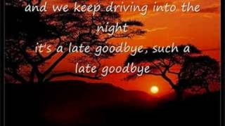 Poets Of The Fall -  Late Goodbye (lyrics)