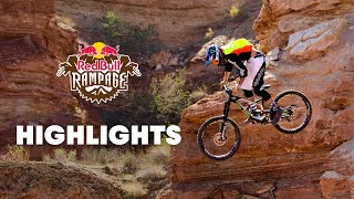 Top Freeride MTB Highlights from Red Bull Rampage 2014