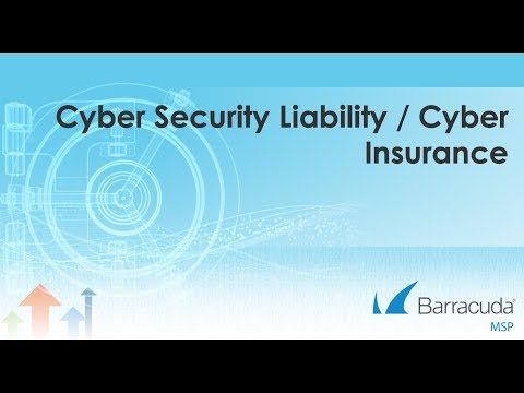 Cyber Liability and Cyber Security Insurance for MSPs