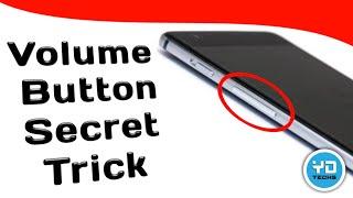 Volume Button Secret Tricks | Volume Button Hidden Feature | Best App lock Android 😎