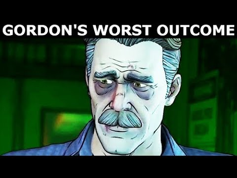 Gordon's Worst Ending & Final Outcome - BATMAN Season 2 The Enemy Within Episode 5: Same Stitch