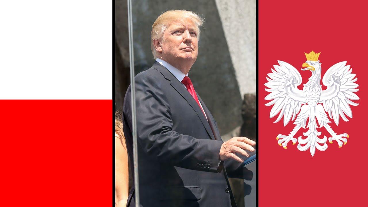 Najważniejsze słowa w przemówieniu Donalda Trumpa o Polsce i Polakach