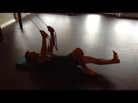 Toronto Beaches Personal Training - Core Engaged Deadbug Feet on Floor (Core Stability)