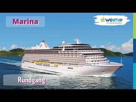 Marina von Oceania Cruises - Ausführlicher Rundgang / Complete Tour