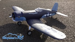 parkzone f4u 1a corsair parkflyer wwii warbird rc plane unboxing maiden flight and flight review