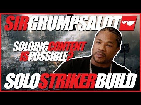 [ GRUMPS DUMPS ] [ DIVISION ] Best build for soloing content in Division. Striker hybrid!