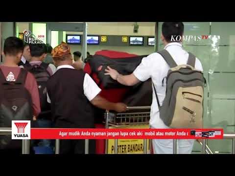Penumpang Bandara Juanda Turun 2 Hari Jelang Lebaran