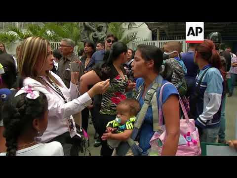 Doctors and patients protest lack of medicines in Venezuela
