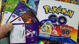 ACTUAL POKEMON GO TRADING CARDS!? 18 ULTRA RARE PULLS - PART 1 - POKEMON UNWRAPPED