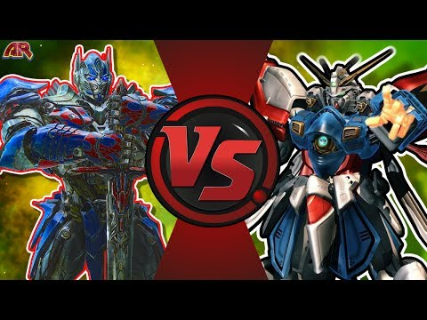 OPTIMUS PRIME vs BURNING GUNDAM! (Transformers vs Gundam) CFC EP 194
