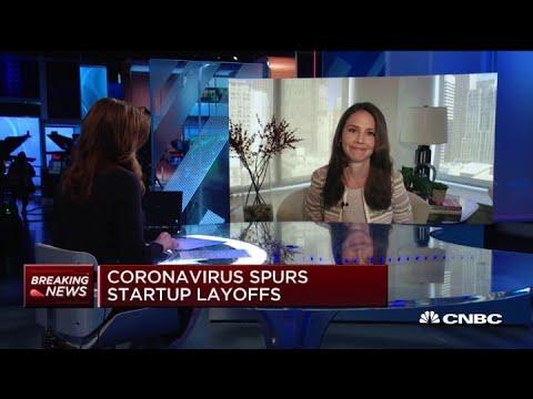 Coronavirus spurs layoffs among startups