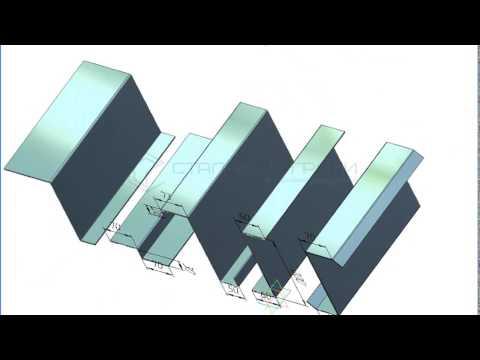 Видео Профили стальные оцинкованные марка н60 902 0 9