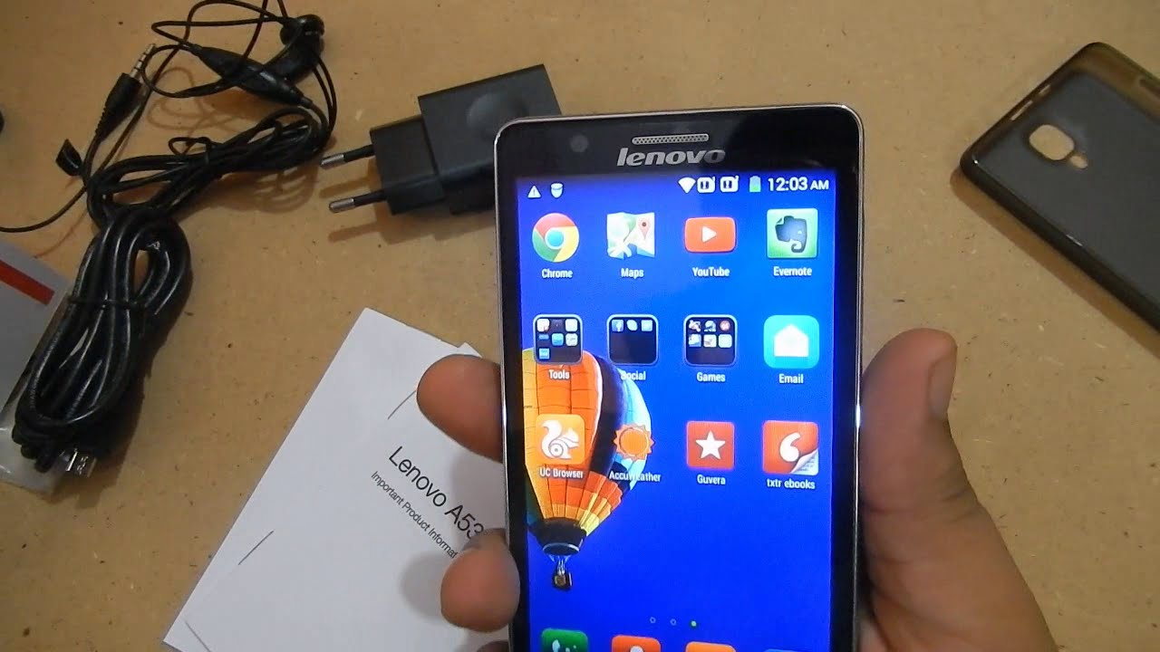 Phone Lenovo A536: reviews, specifications 97