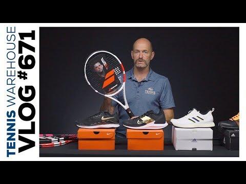We Mustache You A Question 👨🏻 Starter Racquets + Nike & Adidas Tennis Shoe Colors -- VLOG #671