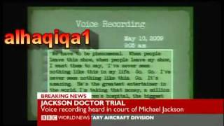 newly released tape of michael jackson slurred words bbc news