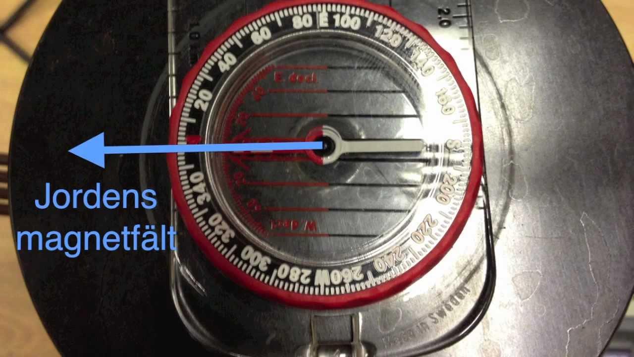 Beräkning av jordens magnetfält