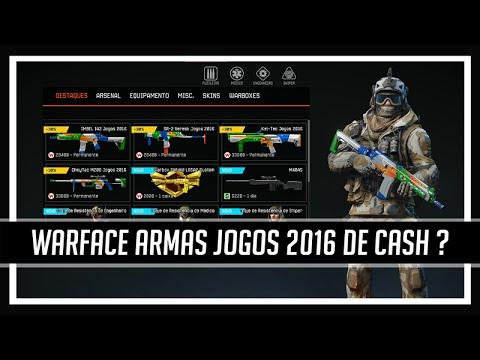 Warface Armas Jogos 2016 de Cash ?