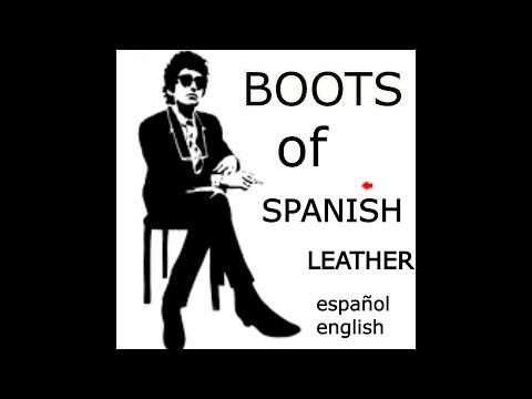 BOB DYLAN - Boots Of Spanish Leather {Botas De Cuero Español} - [ESPAÑOL - INGLES]