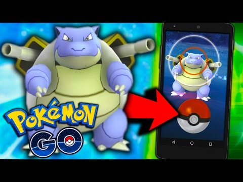 Pokemon GO - WE FOUND A BLASTOISE & HUNT FOR DRATINI