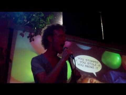 Popdorian plays 'You break it, you own delight'  @ DB's - II, Utrecht 5 november 2010
