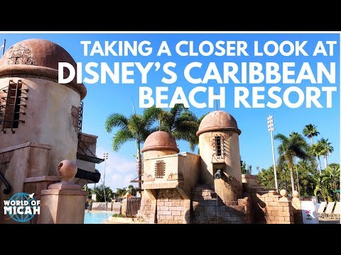 Taking a closer look at Disney's Caribbean Resort 2018! (WORLD OF MICAH)