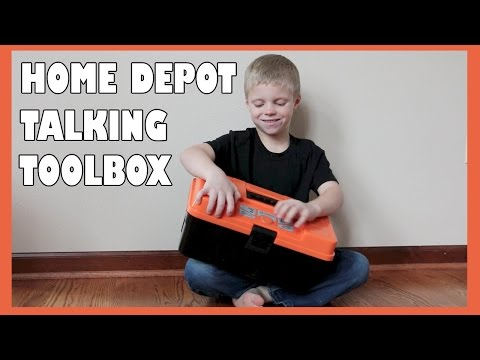 BG Toy Review: Home Depot Talking Toolbox