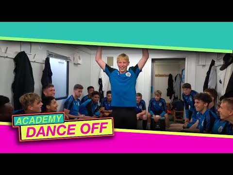 When a Premier League club takes on the Total Tekkers Dance Off you just know it's going to be good