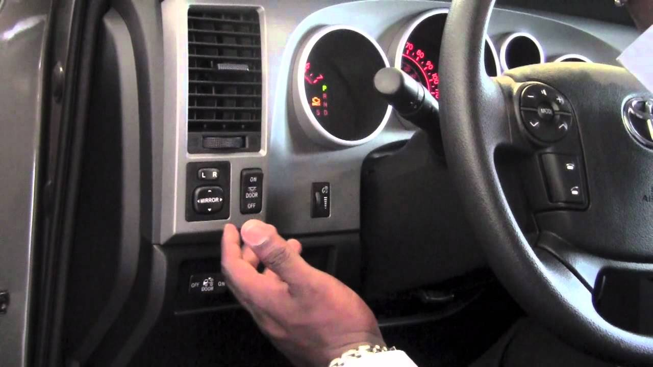 2012 | Toyota | Tundra | Power Outside Mirrors | How To by Toyota ...
