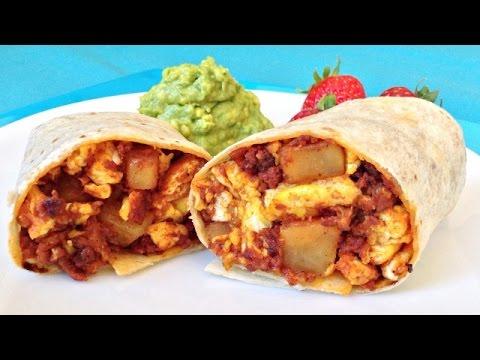 Potato Chorizo Burritos - When You're HANGRY Recipe! - YouTube