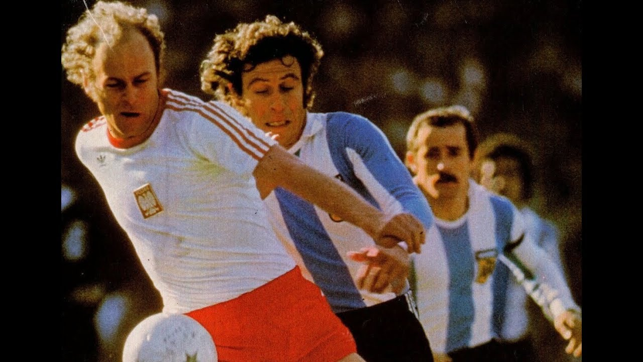 1977 [312] Argentyna v Polska [3-1] Argentina v Poland