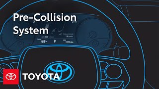 Turning On and Off Pre-Collision System | Toyota