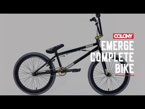 The Colony Emerge is now available in Black / Gold, check more info on the bike here: http://colonybmx.com.au/products/2018-colony-emerge/ Thanks for ...