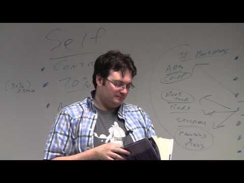 Brandon Sanderson 2013 Lecture 9: Book Publicity Via Publishing Houses (3/6)