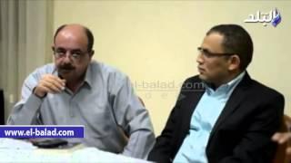 بالفيديو والصور.. بدء ندوة لمناقشة رواية 'البصّاص' للكاتب مصطفى عبيد