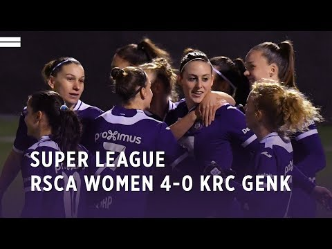 Super League: RSCA Women 4-0 KRC Genk