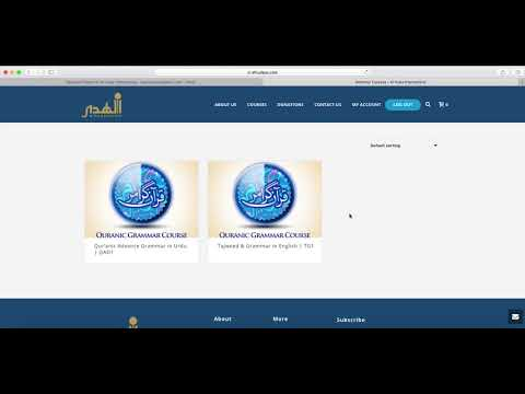 AlHuda Online Existing Students How To Register