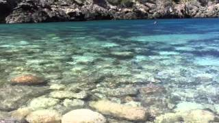 Cala Deià, Mallorca, 17 April 2016... fancy a swim in pure crystal waters?Just watch and listen....