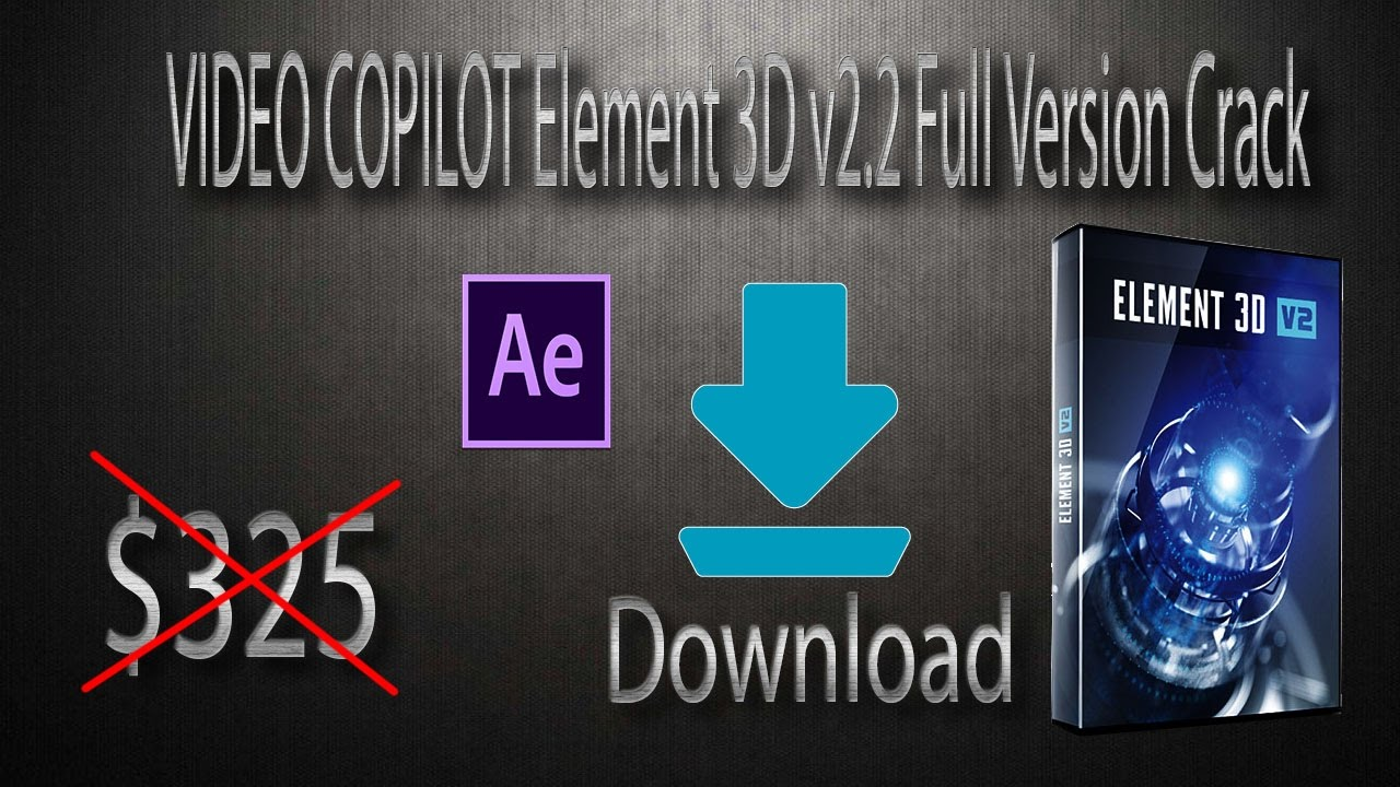 video copilot element 3d free download with crack