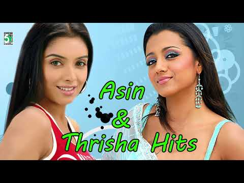 Asin & Trisha Super Hit Popular Audio Jukebox