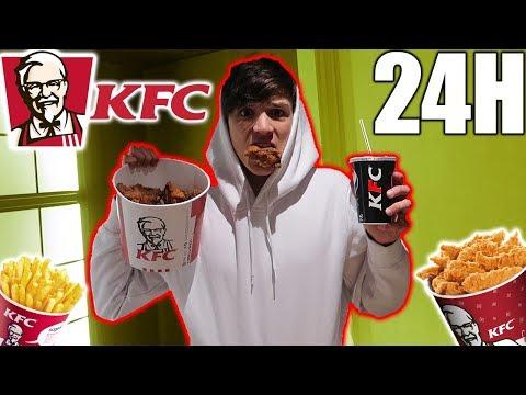 MANGIO PER 24 ORE SOLO KFC!!!