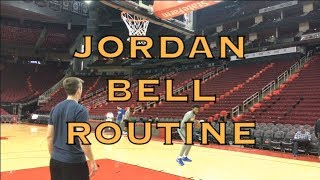 Jordan Bell is NOT mocking James Harden with his dancing stepback? Also a Dragon Ball Z tribute + 3s